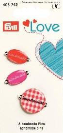Prym LOVE Handmade Pins