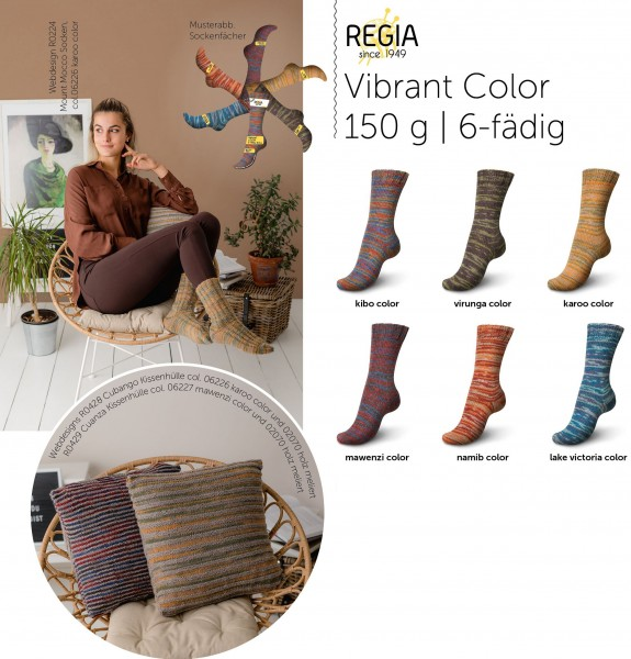 Vibrant Color 6-fädig