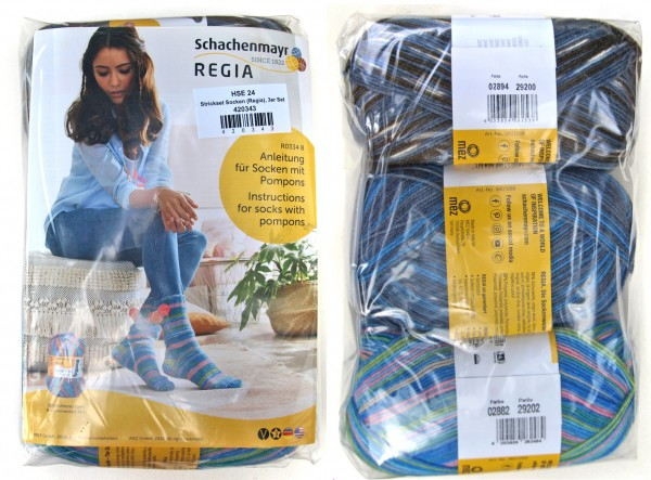 Strickset Socken 3er