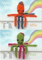 Häkelset Oktopus Hopi & Milo D2