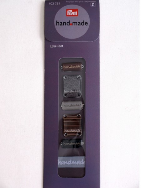 Prym Handmade Label-Set
