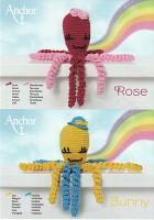 Häkelset Oktopus Sunny & Rose D3
